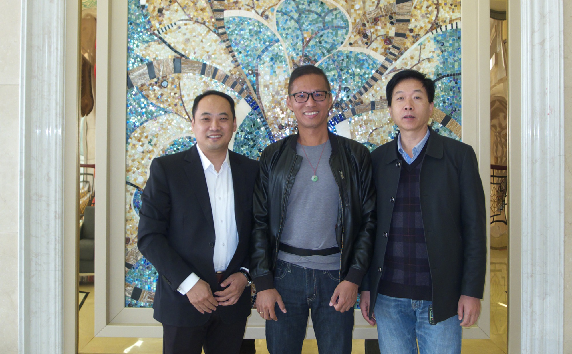 Qiyou yuncang has reached cooperation intention with foreign businessmen in Indonesia